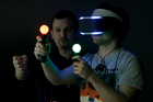 PlayStation 4's virtual reality headset Project Morpheus. Photo / AP