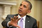 President Barack Obama speaks on the violence in Iraq. Photo / AP
