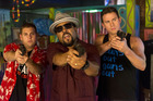 This police spoof (starring from left, Jonah Hill, Ice Cube and Channing Tatum) has a little extra depth.
