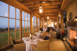 The dining loggia. Photo / Supplied