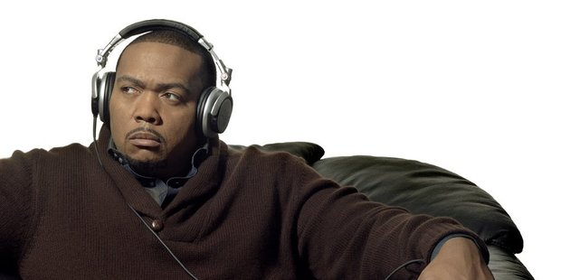 Pop and hip-hop producer and songwriter Timbaland. Photo / supplied