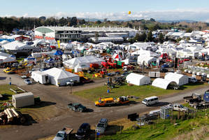 Fieldays at Mystery Creek Events Centre. Photo / Christine Cornege
