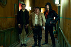 Taika Waititi, Jonathon Brugh and Jemaine Clement star in 'What We Do In The Shadows'.