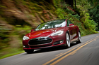 The Tesla Model S is one of the models the American company is using to woo overseas buyers. Photo / Supplied