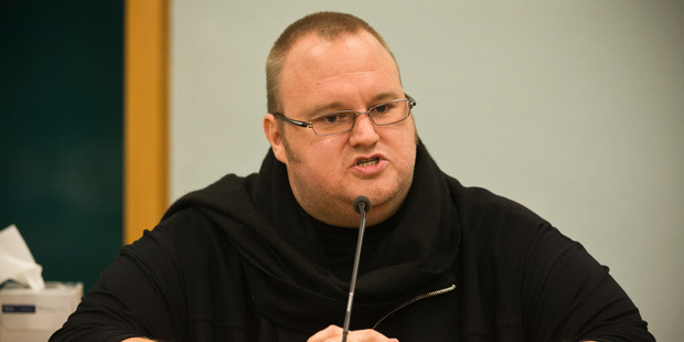 The US government wants to extradite Dotcom, who was arrested in New Zealand on its behalf. Photo / Greg Bowker