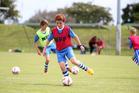 FIFA visit, Kamo Soccer Club, Robert Bull of Whangarei. PICTURE/Michael Cunningham