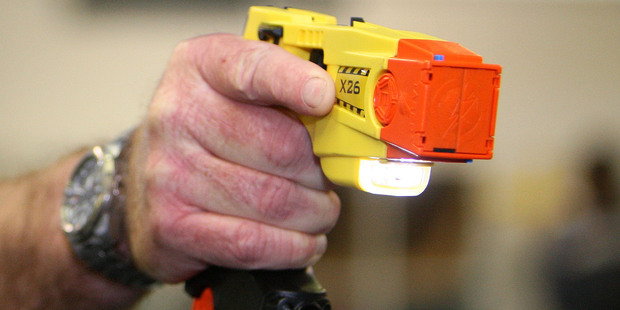 A taser gun used by the Police. Photo / NZPA