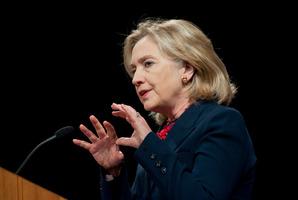 Hillary Clinton. Photo / NZPA