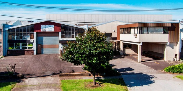 These two small freehold factories are for sale on Patrick St, Onehunga.
