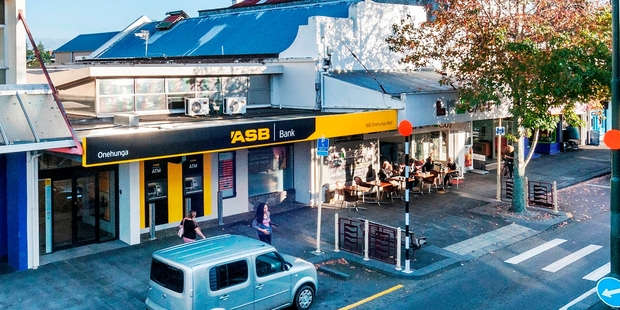 168 Onehunga Mall has an established tenant in the ASB Bank.