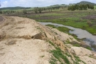 Part of the earthworks done by David Webster and his company Clear Ridge Station Ltd which resource consents were not applied for. Photo/Northland Regional Council