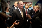 John Key has avoided taking a stance on the Rena wreck.