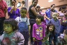 Migrants are released from custody at a bus station in Phoenix, Arizona. Photo / AP