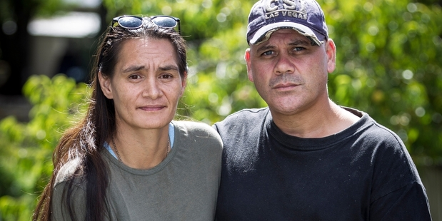 Mona and Brent Dudley are opposed to the names of the two assailants staying secret. Photo / Michael Craig