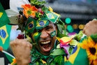 Football rouses Brazilian passions like nothing else. Photo / AP