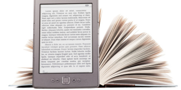 Author royalties are set differently for printed books and e-books. Photo / Thinkstock