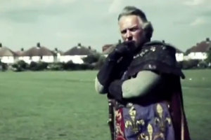 Who could resist Rik Mayall as Henry V? Photo / YouTube