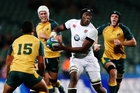 Lock Maro Itoje (centre) has been in the think of some impressive play by the England forwads Photo / Getty Images.
