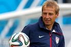 Jurgen Klinsmann has the US playing a midfield diamond formation. Picture / AP