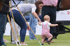 Catherine, Duchess of Cambridge, and Prince George of Cambridge attend the Royal Charity Polo during the Maserati Jerudong Trophy at Cirencester Park Polo Club. Photo / Getty Images
