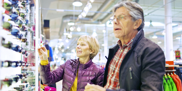 People tend to spend less as they get older. Photo / Thinkstock