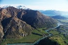 The Kawarau River Station near Queenstown has been on the market for a year, and inquiries have come from as far afield as Italy and the United States.