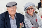 Tom, 92, and Carol Sandford, 95, were married during the war, when