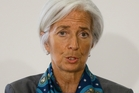 Christine Lagarde  is warning about  an oil shock. Photo / AP