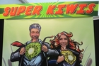 Mike Chapman (left) and Sian Bent from Plant and Food are super Kiwis.