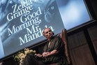 Zelda la Grange, a former personal assistant of Nelson Mandela, looks on during the official launch of her book 'Good Morning, Mr Mandela' in Johannesburg, South Africa. Photo / AFP