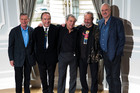 The Monty Python comedy group: Michael Palin, Eric Idle, Terry Jones, Terry Gilliam and John Cleese. Cleese says their show would never get picked up by the BBC now. Photo/AP