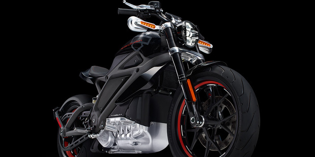 Usually conservative Harley-Davidson have shocked the motorcycle world by unveiling its first fully electric motorcycle. Photo / Supplied