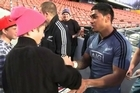 New All Black centre Malakai Fekitoa is set to start for the All Blacks against England in Hamilton on Saturday, Coach Steve Hansen and fellow AB's Aaron Smith, Cory Jane, and Ben Smith tell of his talent and humble potential.