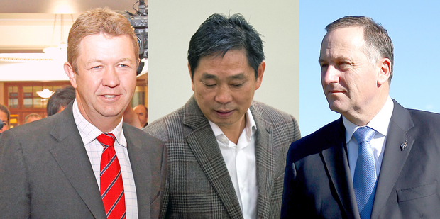 Liu forged links with MPs from both sides of the political spectrum. Photos / NZ Herald