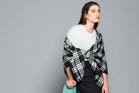 Miss Crabb wool blanket, $250. Workshop mohair top, $249. Photo / Greg Bowker