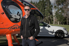 Greg Murphy needs a biannual health check for his helicopter licence. Pictures / Ted Baghurst Greg Murphy is linked to Holden cars through racing but is also a helicopter pilot.