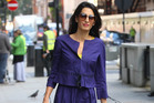 There are websites devoted to the contents of Amal Alamuddin's wardrobe. Picture / Snapper Media.