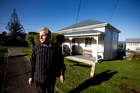 Family member Ian Squire at the house owned by sisters Rehutai Gundry, 90, and Fay Gundry, 88. Photo / Dean Purcell
