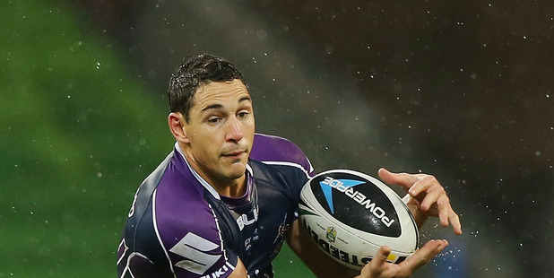 Queensland confirmed Billy Slater would play at fullback in tomorrow's game. Photo / Getty Images