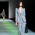 Relaxed suiting at Giorgio Armani for Fall 2014. Picture / AP Images