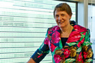 Helen Clark at the United Nations Development Programme offices in New York. Photo / Audrey Young