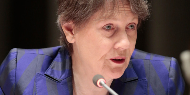 Helen Clark. Photo / Evan Schneider