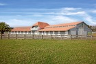 Eight years ago the present owner of Orere Point Farm spent millions on making it one of the most beautiful and practical stud farms in Auckland.