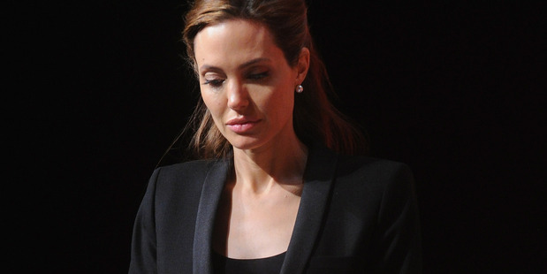 Over the last decade Angelina Jolie has changed from bad-girl to an honoured humanitarian. Photo / Getty Images