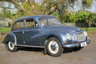 The DKW 3=6 is named after its 3-cylinder, two-stroke engine. Pictures / Jacqui Madelin