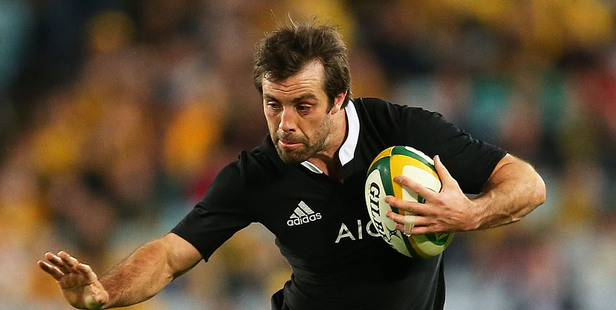 Conrad Smith, who will be on the sidelines for five to six weeks, still has a part to play within the All Blacks camp this week. Photo / Getty Images