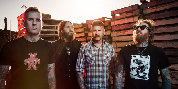 Atlanta's Mastodon seem to be finally settling comfortably into the 'hipster metallers' tag they've been given.