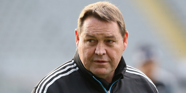 All Blacks head coach Steve Hansen. Photo / Getty Images