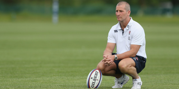 Coach Stuart Lancaster has turned England into a more formidable unit. Photo / Getty Images