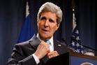 Secretary of State John Kerry. Photo / AP